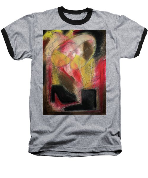 Angel At The Beach Baseball T-Shirt