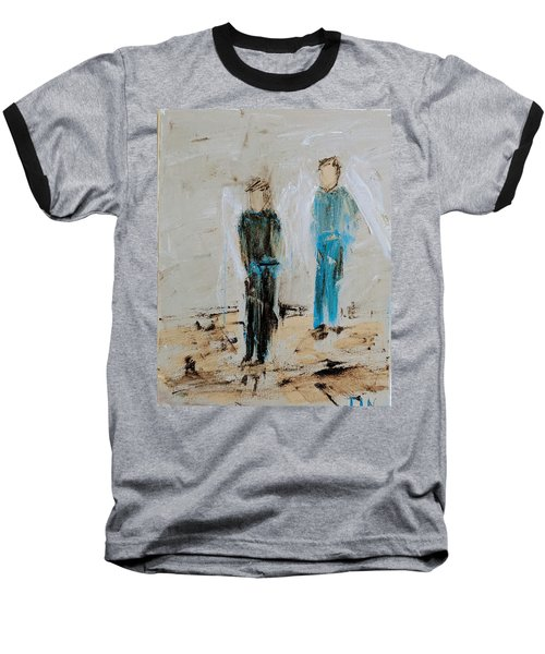 Angel Boys On A Dirt Road Baseball T-Shirt