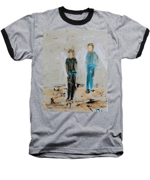 Angel Boys On A Dirt Road Baseball T-Shirt