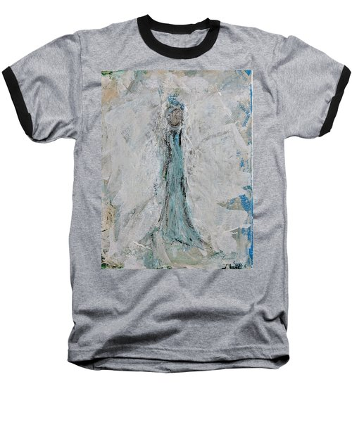 Angel Of Faith Baseball T-Shirt