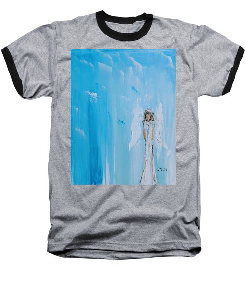 Angel Of Simplicity Baseball T-Shirt