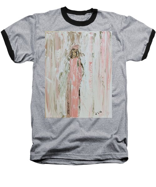 Angels In Pink Baseball T-Shirt