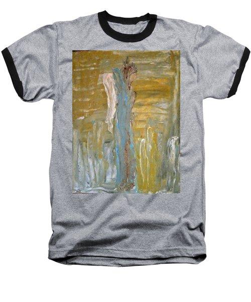 Angels In Prayer Baseball T-Shirt