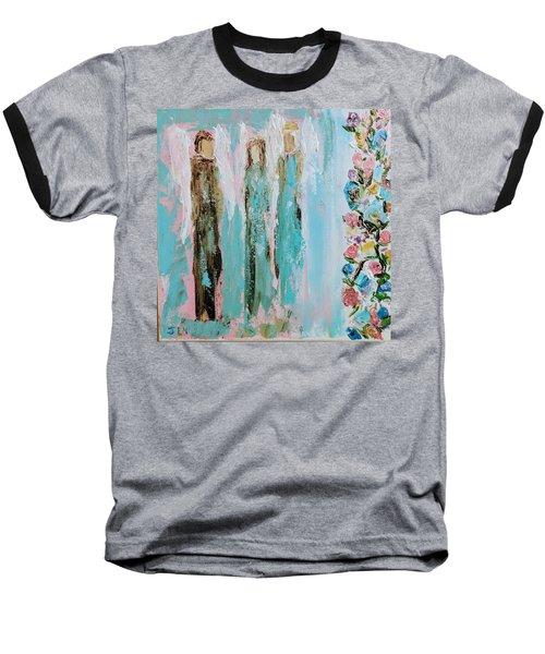 Angels In The Garden Baseball T-Shirt