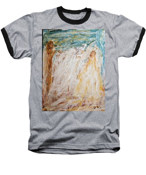 Angels Of Peace Baseball T-Shirt