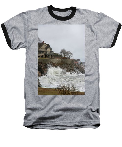 Angry Splash Baseball T-Shirt