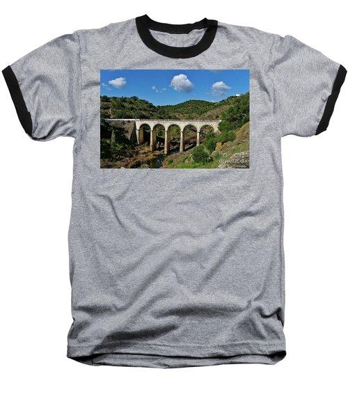 Antique Mertola's Bridge In Alentejo Baseball T-Shirt