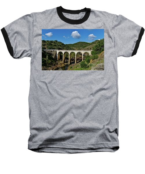 Antique Mertola's Bridge In Alentejo Baseball T-Shirt