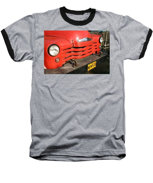 Antique Truck Red Cuba 11300502 Baseball T-Shirt