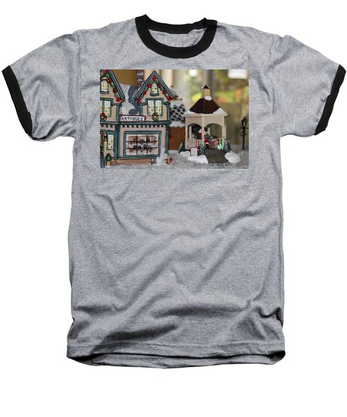 Antiques In Christmas Town Baseball T-Shirt