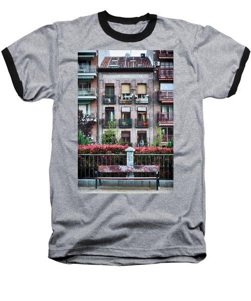Baseball T-Shirt featuring the photograph Apartments In Madrid by Eduardo Jose Accorinti