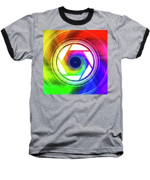 Aperature Baseball T-Shirt