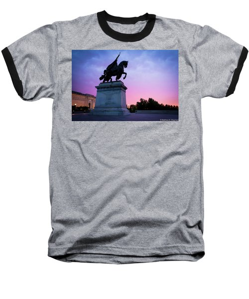 Apotheosis Of St. Louis, King Of France Baseball T-Shirt