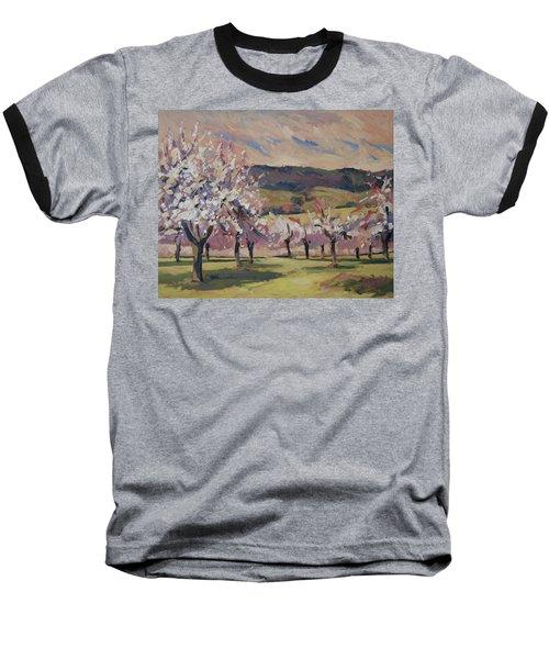 Apple Blossom Geuldal Baseball T-Shirt