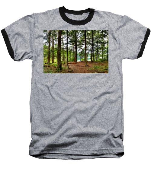 Baseball T-Shirt featuring the photograph Approaching Sis Lake by David Patterson