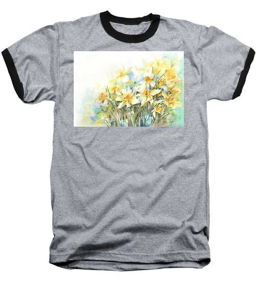 April Yellows Baseball T-Shirt