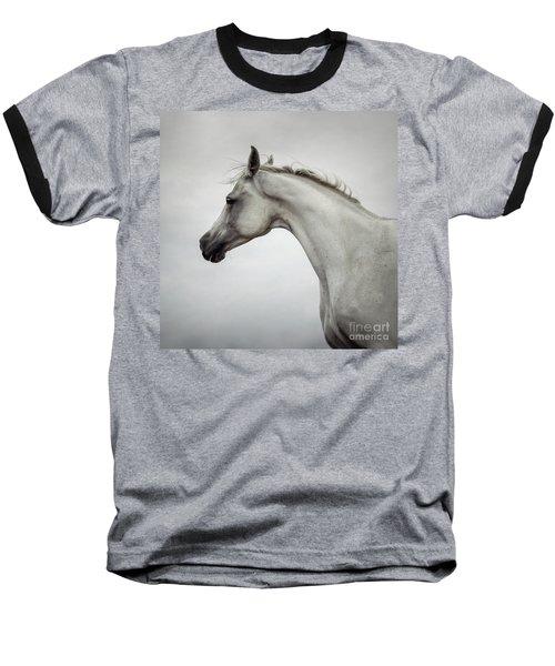 Baseball T-Shirt featuring the photograph Arabian Horse Portrait by Dimitar Hristov