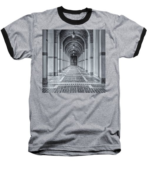 Baseball T-Shirt featuring the photograph Arched Walkway by James Woody