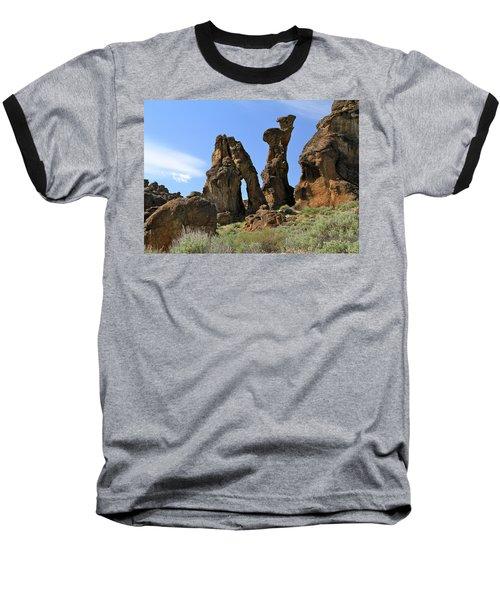 Arches Hoodoos Castles Baseball T-Shirt
