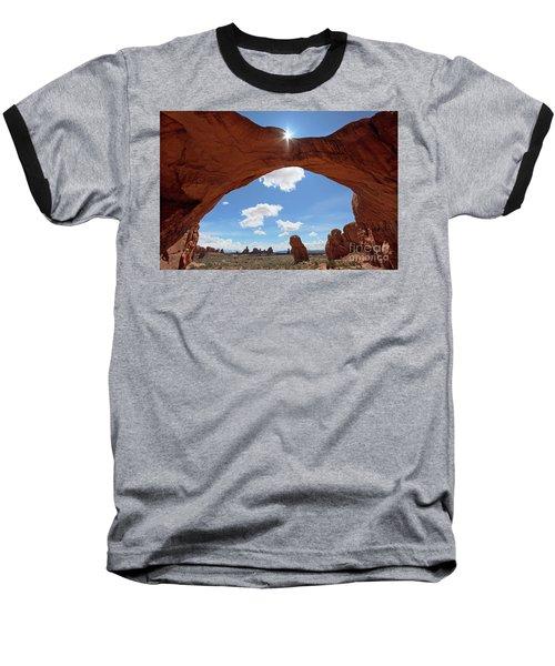 Arches National Park Baseball T-Shirt