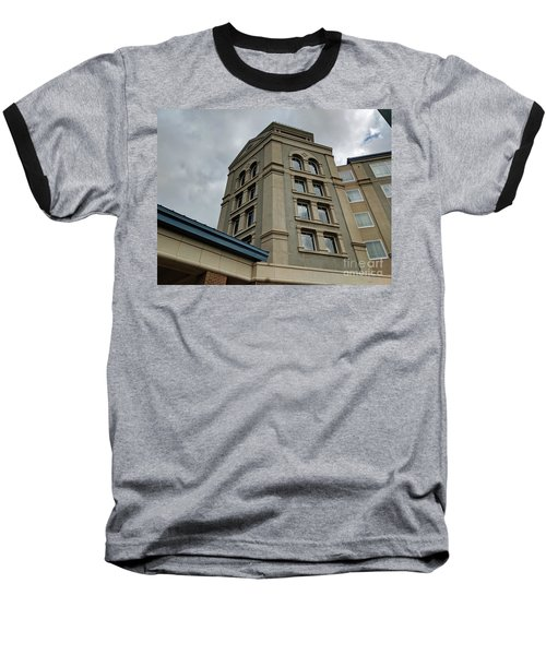 Architecture In The Clouds Baseball T-Shirt
