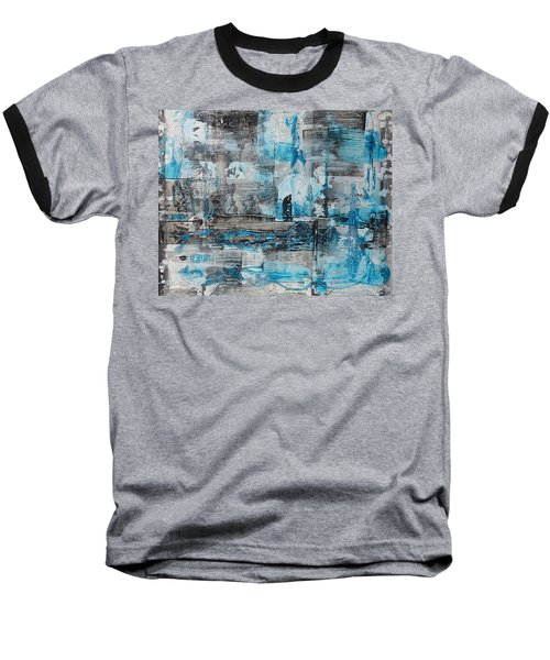 Baseball T-Shirt featuring the painting Arctic by 'REA' Gallery
