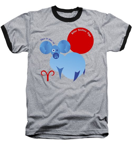 Aries - Ram Baseball T-Shirt