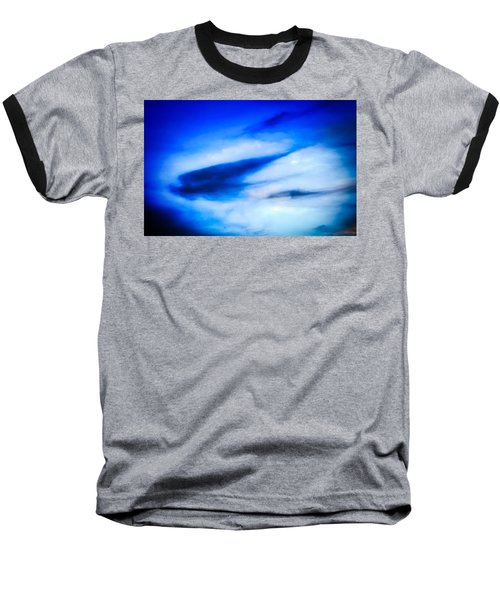 Baseball T-Shirt featuring the photograph Arizona Angel In Blue by Judy Kennedy
