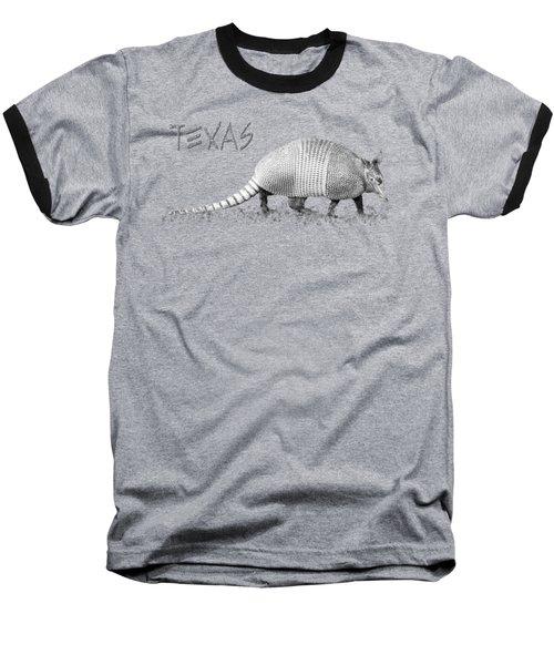 Armadillo Baseball T-Shirt
