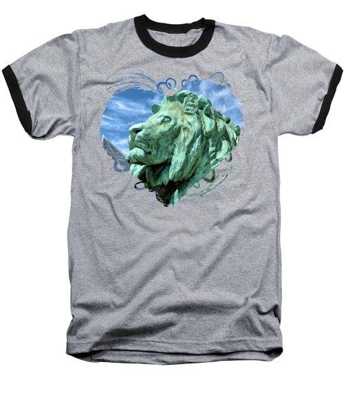 Art Institute In Chicago Lion Baseball T-Shirt
