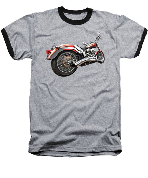 Lightning Fast - Screamin' Eagle Harley Baseball T-Shirt
