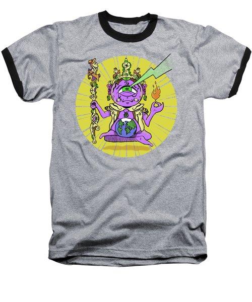 Baseball T-Shirt featuring the digital art Zen by Sotuland Art