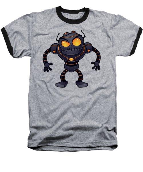 Angry Robot Baseball T-Shirt