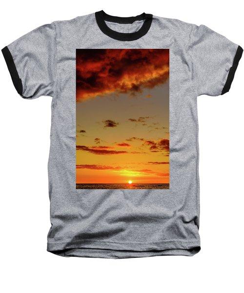 As The Sun Touches Baseball T-Shirt