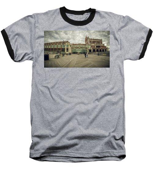 Asbury Park Convention Hall Baseball T-Shirt