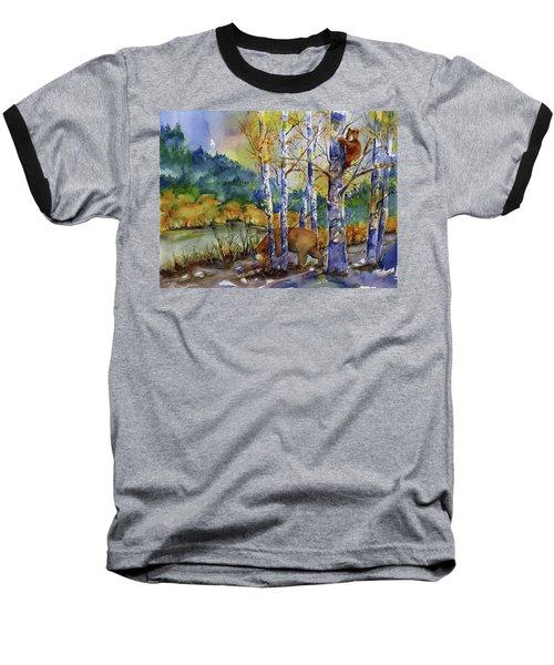 Aspen Bears At Emmigrant Gap Baseball T-Shirt