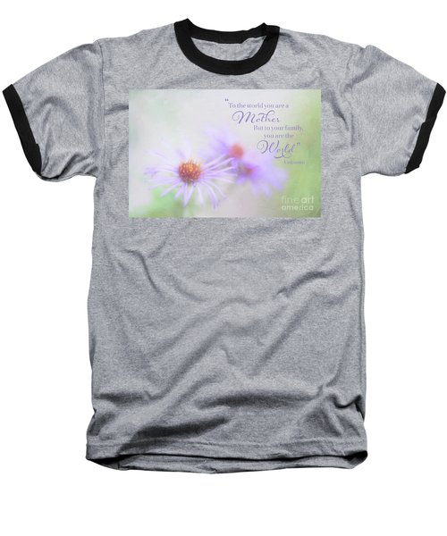 Asters For Mother's Day Baseball T-Shirt