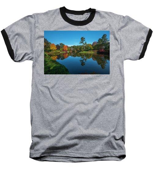 Asticou Reflection Baseball T-Shirt