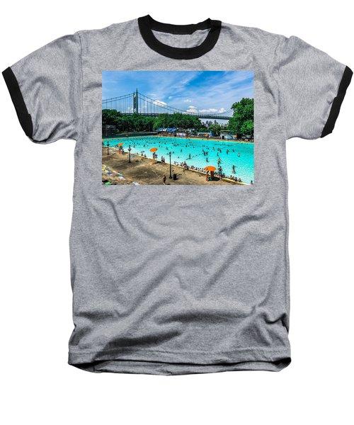 Astoria Pool Baseball T-Shirt