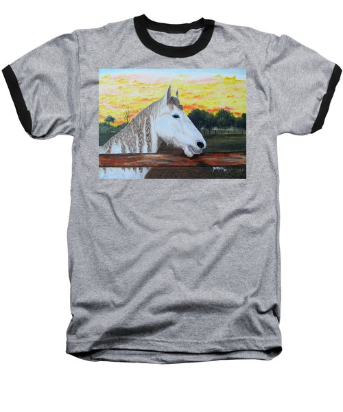 At The Farm Baseball T-Shirt
