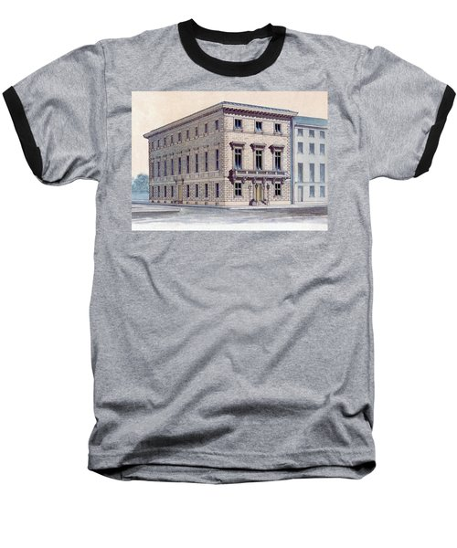 Athenaeum Perspective Baseball T-Shirt
