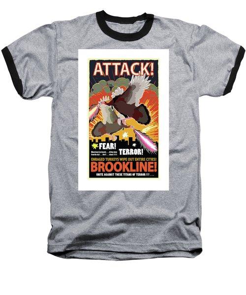 Attack Baseball T-Shirt
