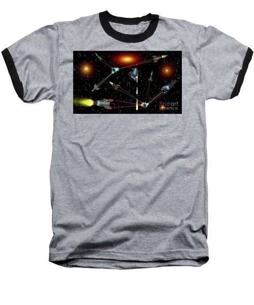 Attacked Baseball T-Shirt