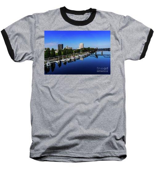 Augusta Ga Savannah River 2 Baseball T-Shirt