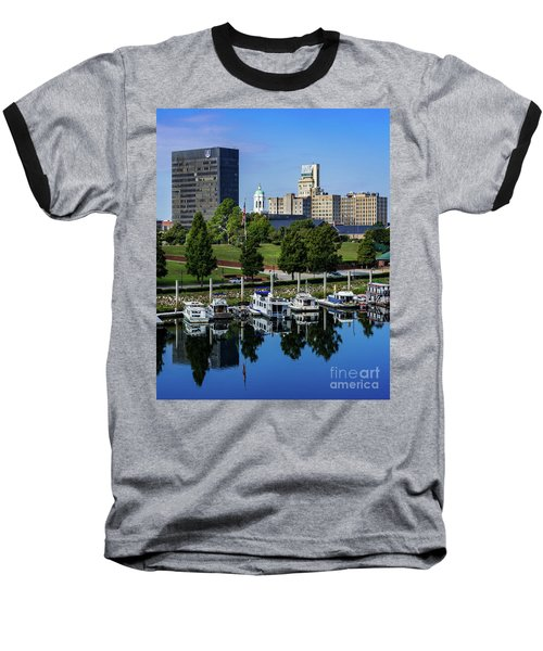Augusta Ga Savannah River 3 Baseball T-Shirt