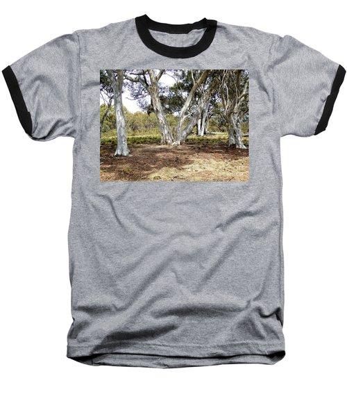 Australian Bush Scene Baseball T-Shirt