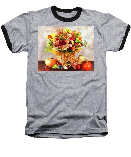 Autum Harvest Baseball T-Shirt