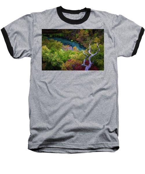 Autumn At Ha Ha Tonka State Park Baseball T-Shirt