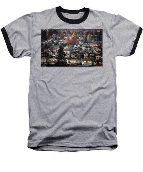 Autumn At Home Baseball T-Shirt