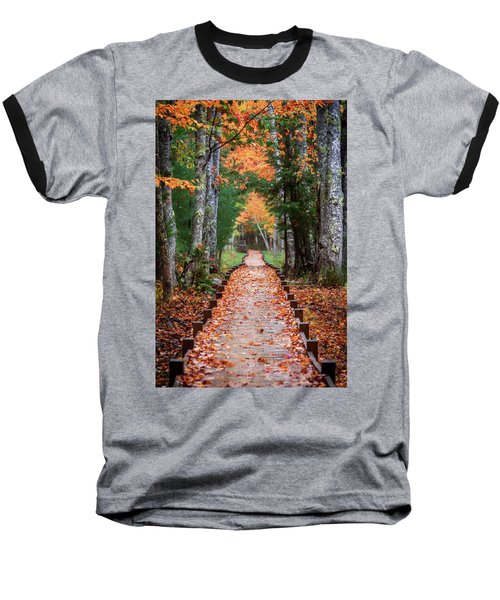 Autumn At Jesup Path Baseball T-Shirt